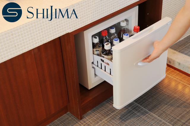 小型冷蔵庫 スライドドア